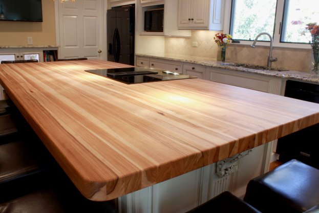Hickory End Grain 2 San Diego - The Countertop Company